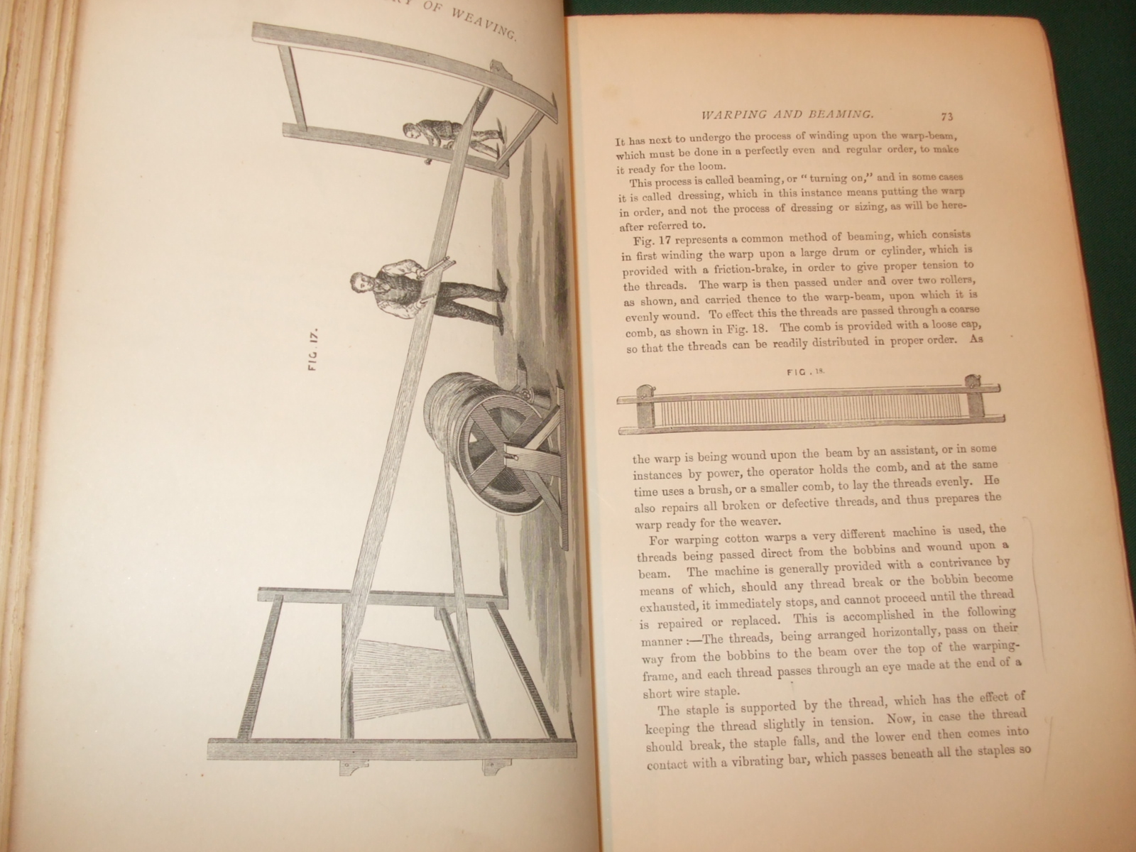 Image for The History and Principles of Weaving by Hand and by Power.