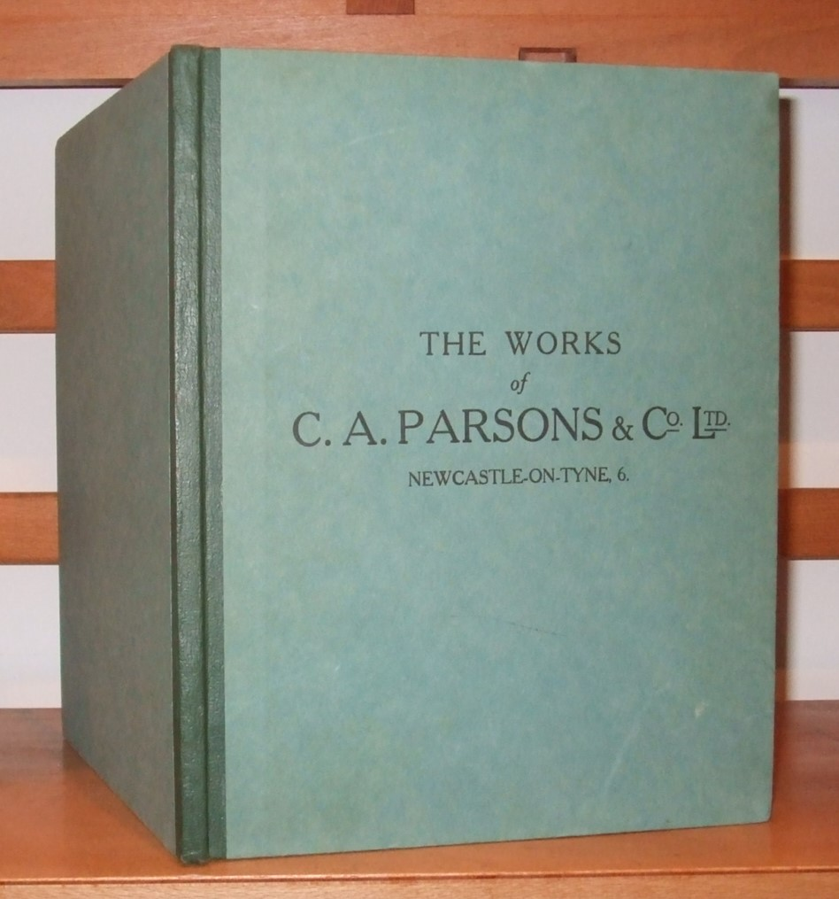 Image for The works of Messrs. C.A. Parsons & Co., Ltd. Newcastle-on-Tyne.
