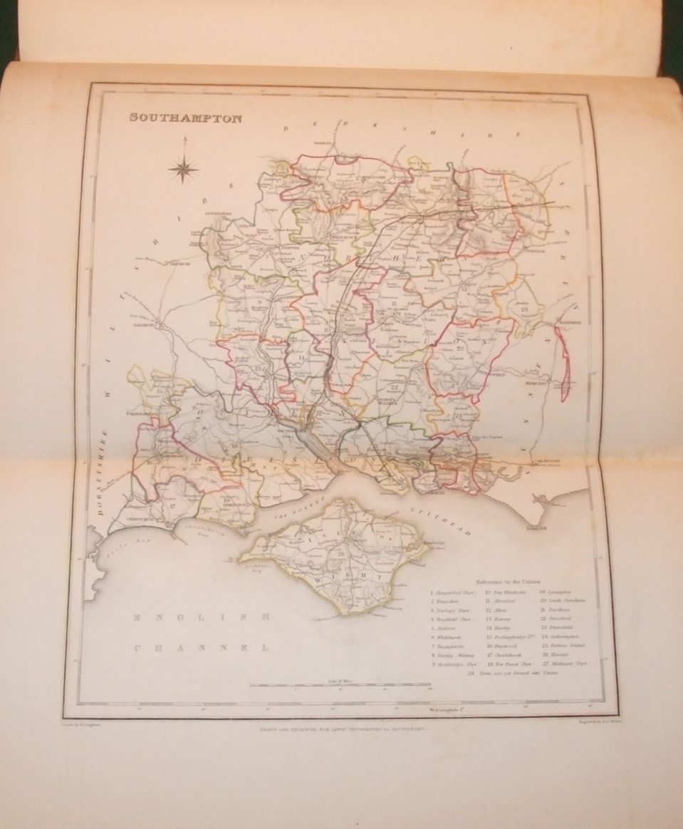 Image for A Topographical Dictionary of England. Wales. Scotland & Ireland [ Full Set 13 Volumes. With Atlases ]