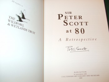 Image for Sir Peter Scott at 80 a Retrospective