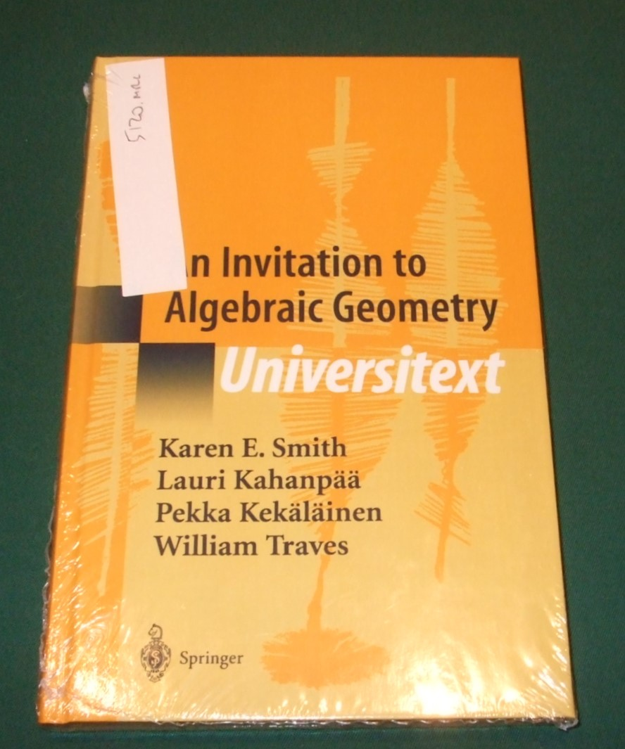 Image for An Invitation to Algebraic Geometry (Universitext)