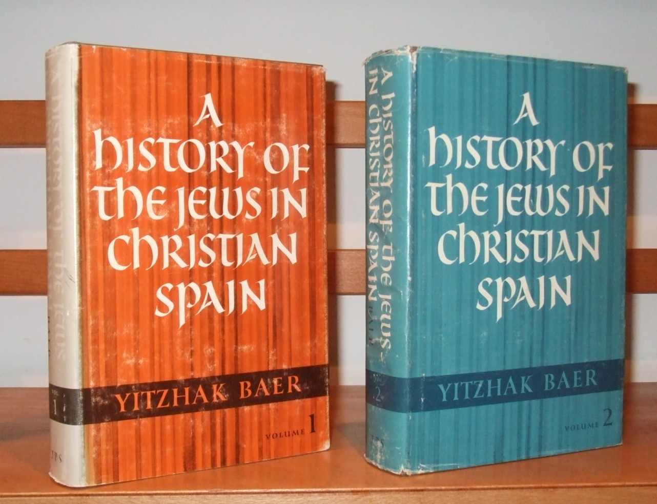 Image for A History of the Jews in Christian Spain [ Complete in 2 Volumes ]
