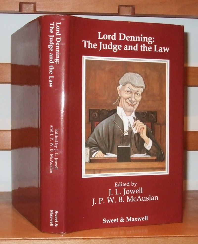 Image for Lord Denning: The Judge, the Law
