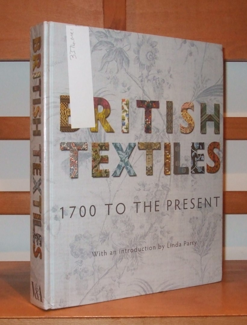 Image for British Textiles: 1700 to the Present