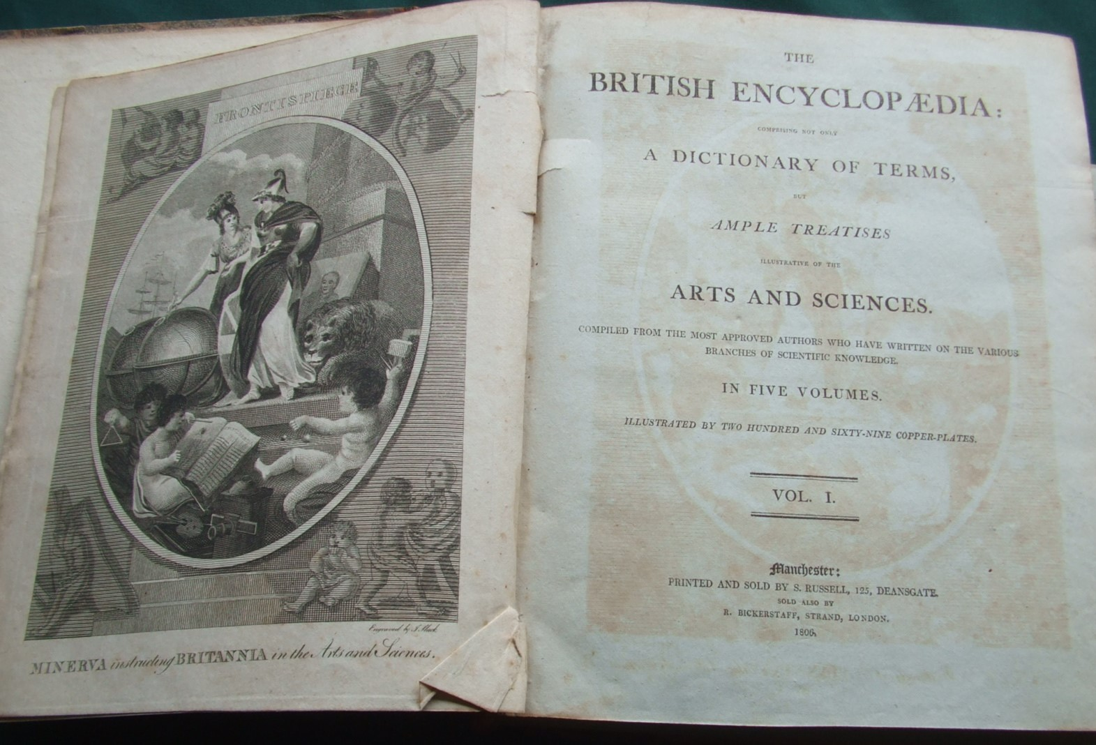 Image for The British Encyclopaedia Comprising Not Only a Dictionary of Terms But Ample Treatises Illustrative of the Arts and Sciences. [ Complete in 5 Volumes ]