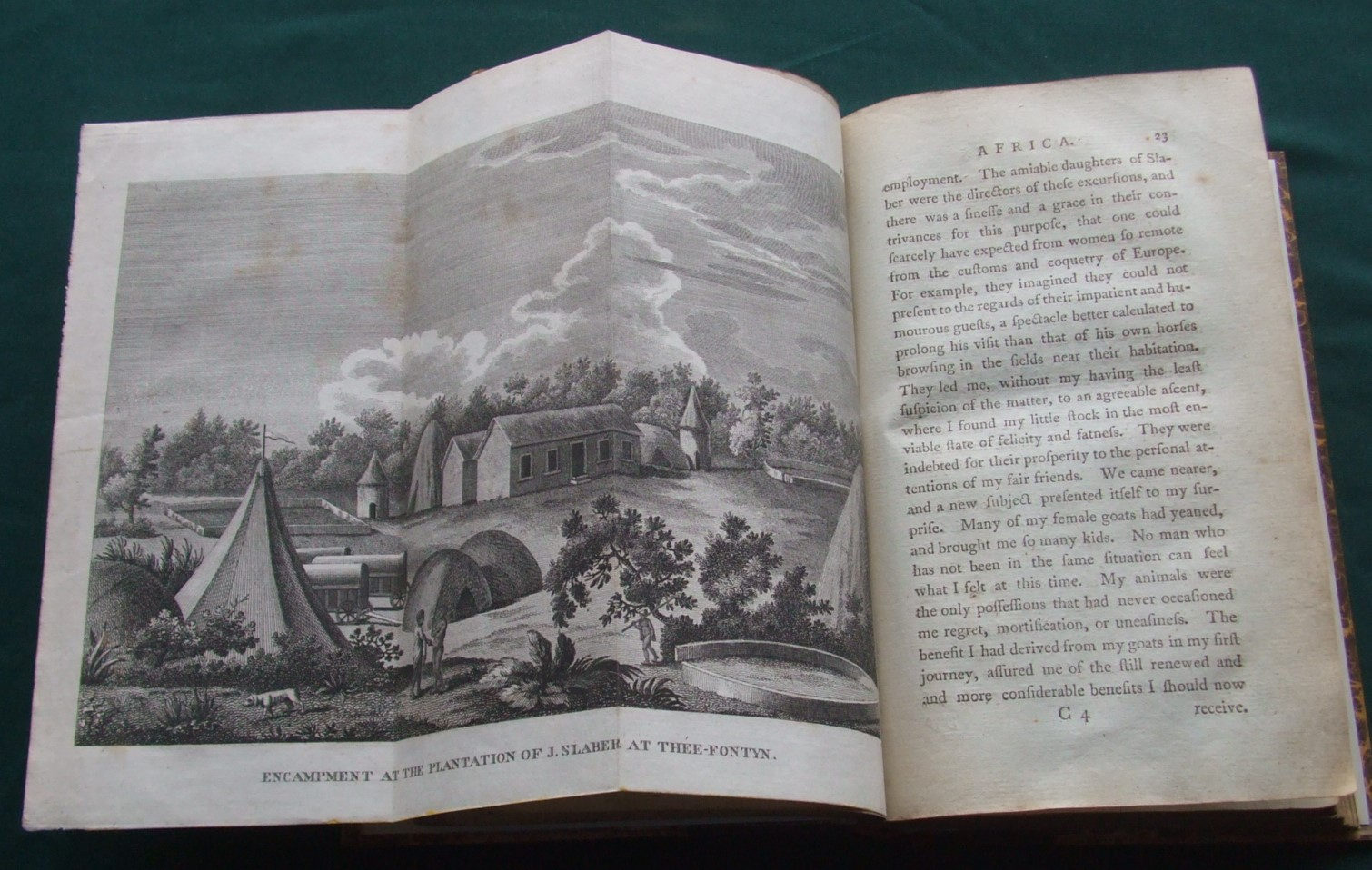 Image for Travels into the Interior Parts of Africa by way of the Cape of Good Hope, in the Years 1780, 81, 82, 83, 84 and 85 [ Complete in 3 Volumes. With All Plates ]