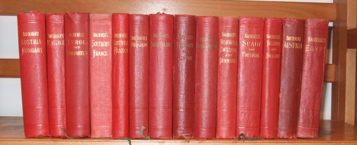 Image for Austria-Hungary  [ 14 Volumes. Baedeker Guides ]