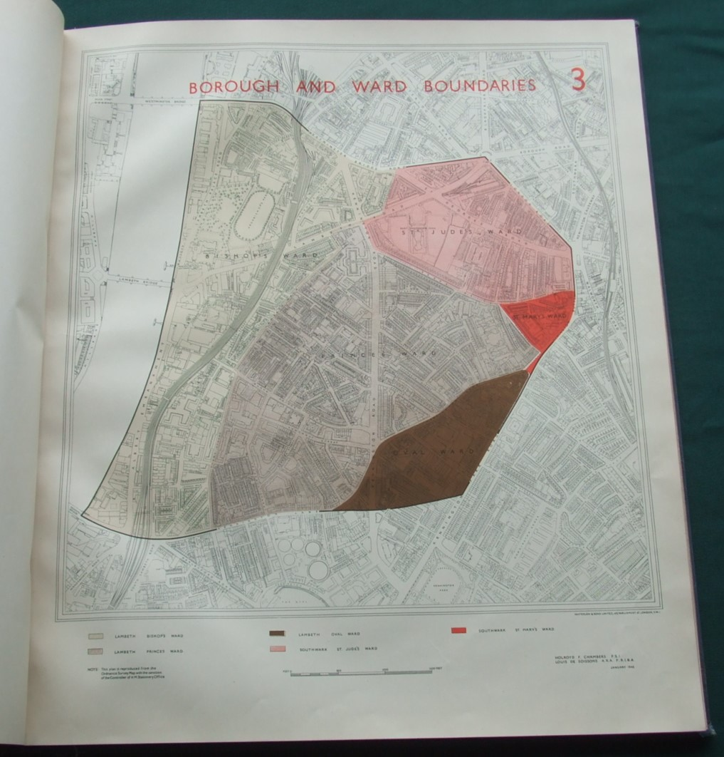 Image for Study of North Lambeth and Southwark Redevelopment Area Plans 1945