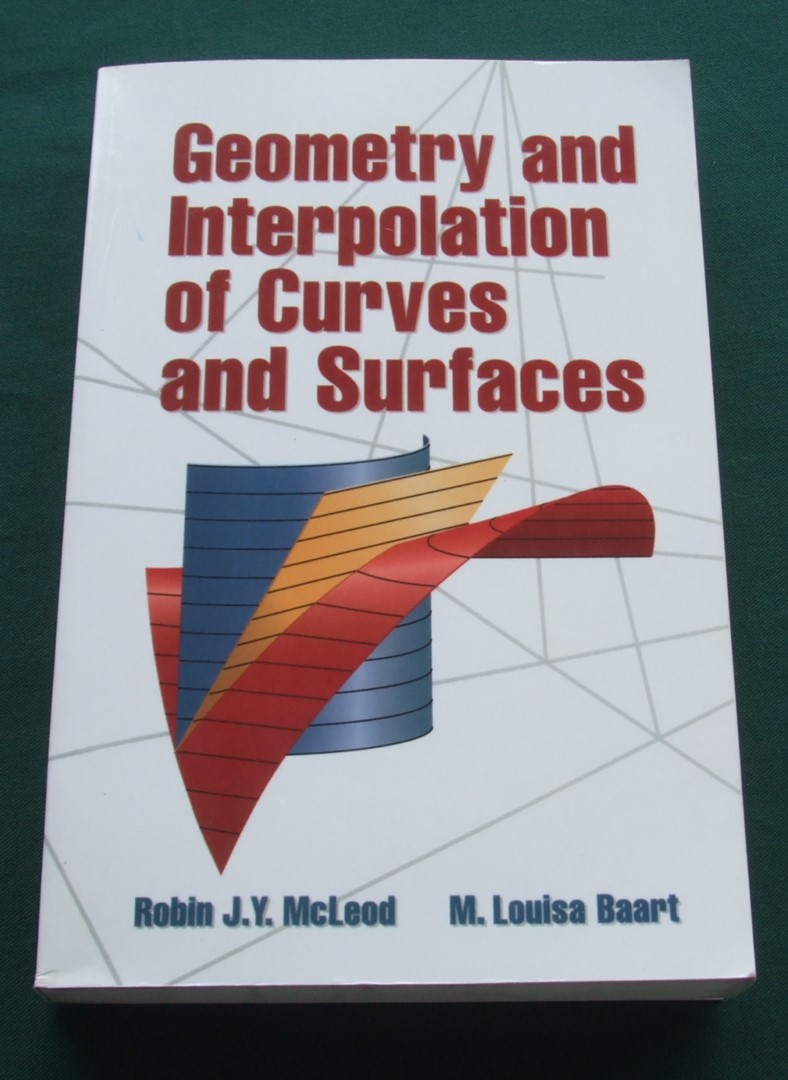 Image for Geometry and Interpolation of Curves and Surfaces