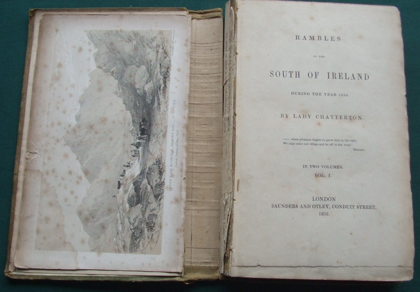 Image for Rambles in the South of Ireland During the Year 1838 [ Volume 1 Only ]