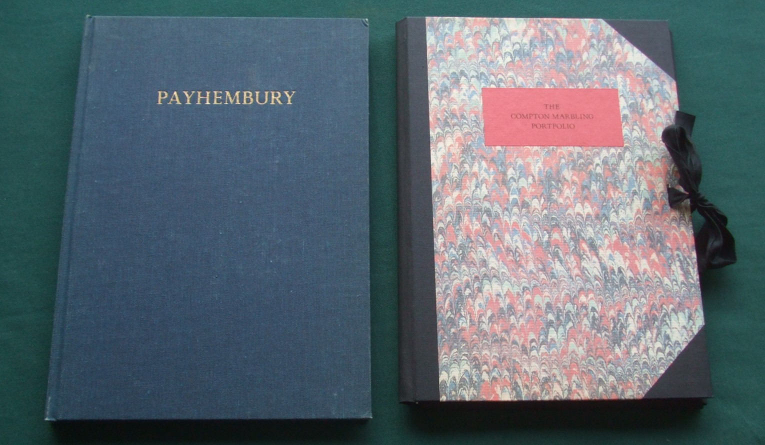Image for Payhembury Marbled Papers Sampler. [ Together with: The Compton Marbling Portfolio of Patterns ]