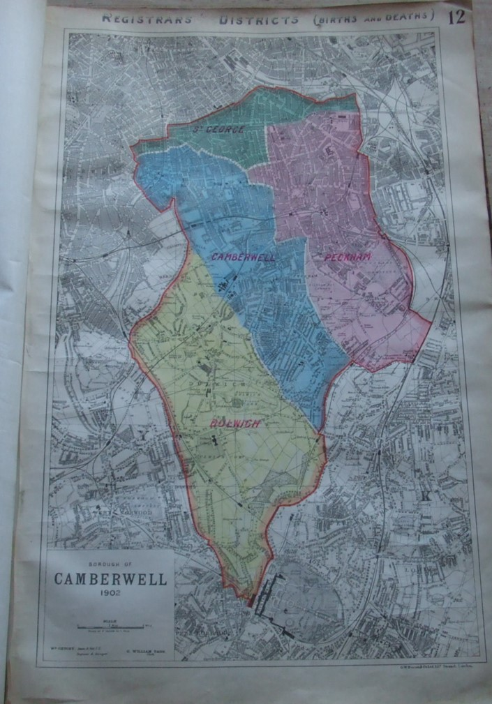 Image for Camberwell Division Maps  [ 39 Large Maps in All ]