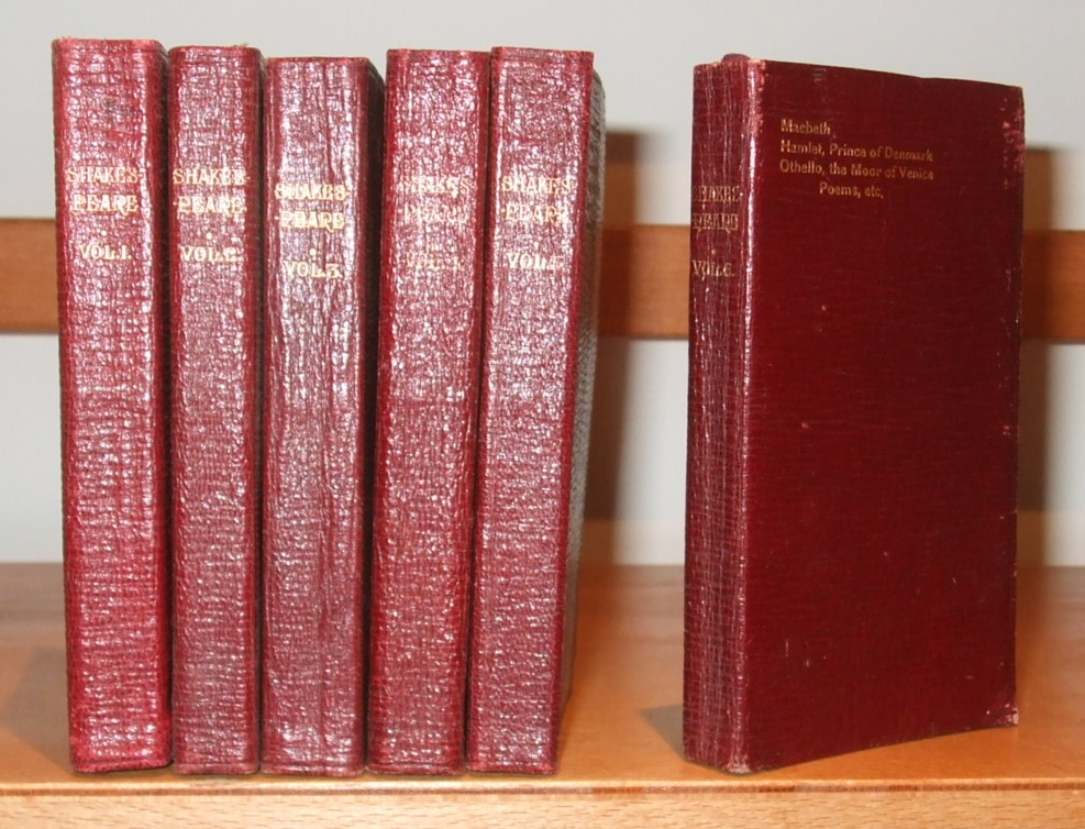 Image for The Complete Works of William Shakespeare [ The Bijou Shakespeare ] [ Complete in 6 Volumes ]