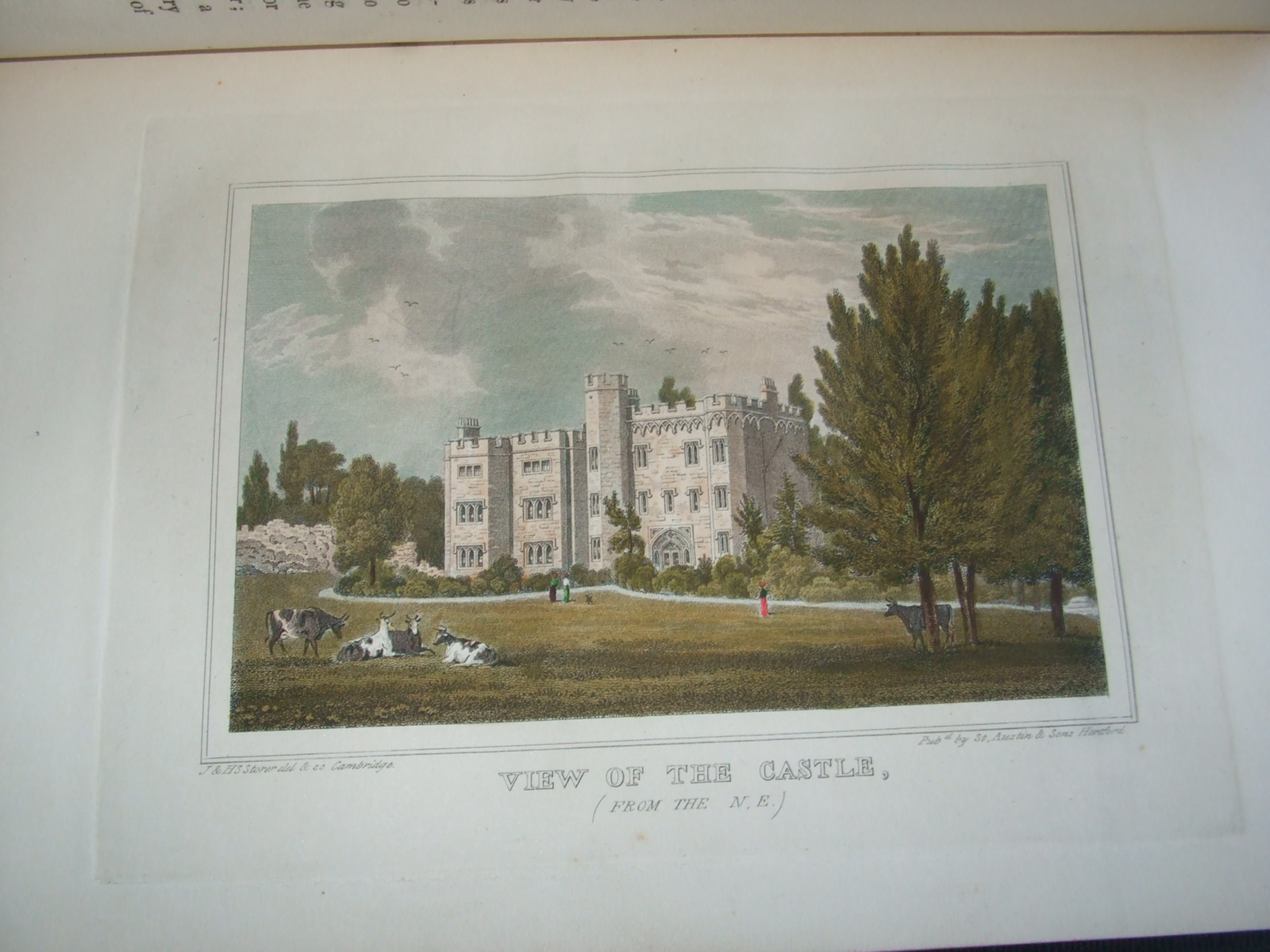 Image for History of the Ancient Town and Borough of Hertford [ Very Nice Copy, with Hand Coloured Plates ]