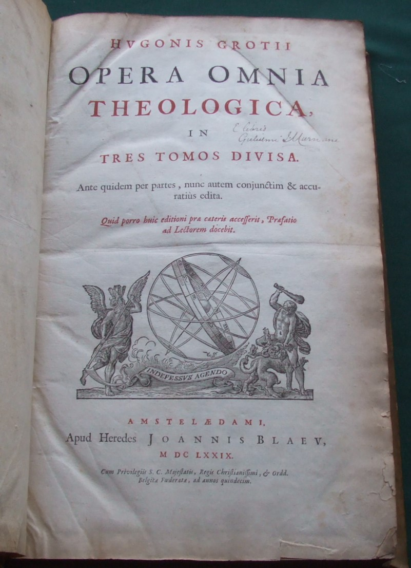 Image for Opera Omnia Theologica [ 3 Volumes, Bound in 4 ] Vellum Bindings [  Canon William Murnane His Copy ]