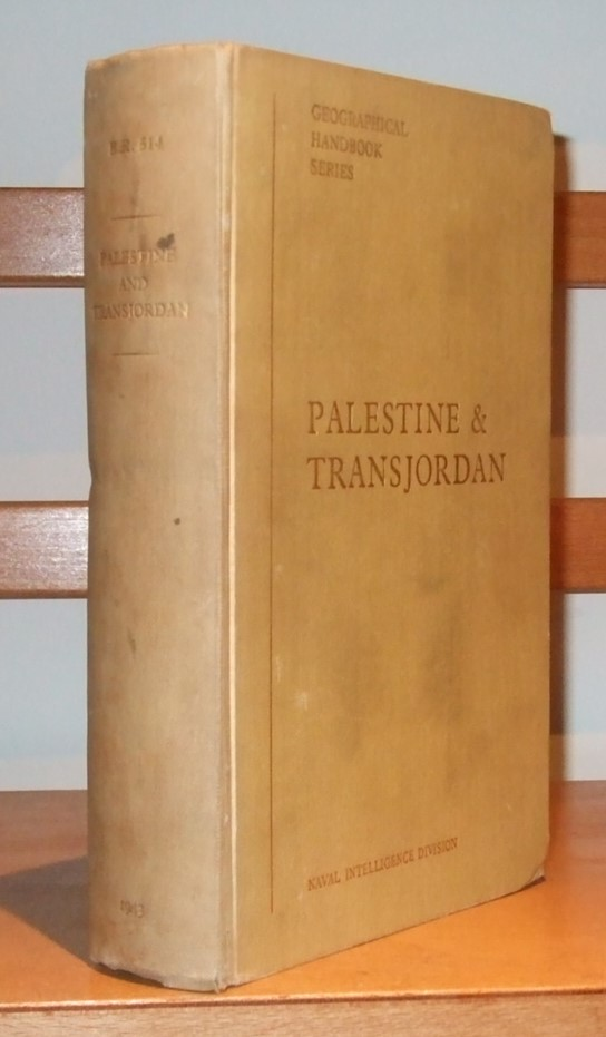 Image for Palestine and Transjordan [ B. R. 514 Geographical Handbook Series ]