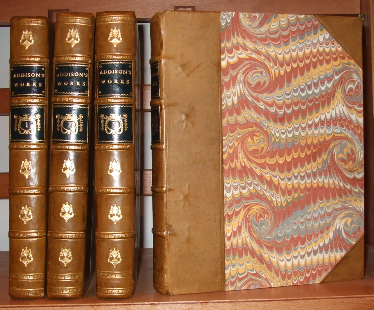 Image for The Works of the Late Right Honourable Joseph Addison ( Complete in 4 Volumes )